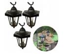 3 solární LED lucerny na zahradu | Kokiskashop