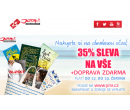 Sleva 35% + doprava zdarma na knihy | Jota.cz