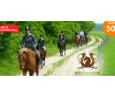 60 minut jízdy na koni v přírodě Podbrdska  | Hyperslevy