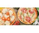 Dvě lahodné pizzy různých velikostí    Slevomat