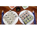 Kacumo set 32 kousků sushi s sebou   Slevomat