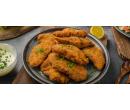 Mix vepřových a kuřecích řízků,  0,5 kg + pečivo | Slevomat