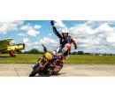 Kaskadérská motocyklová show a divoká spolujízda   Slevomat