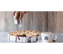 Domácí tvarohový koláč s ovocem a káva | Slevomat