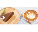 Káva, džus a dort nebo pohár   Slevomat