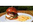 Kuřecí burger + hranolky | Slevomat
