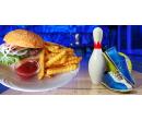 110 minut bowlingu a 6 hovězích burgerů   Slevomat