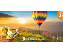 Vyhlídkový let balonem pro 1 nebo 2 osoby   Hyperslevy