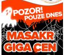 Halloweenský výprodej Gigacomputer   Giga Computer