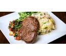 4chodové menu s hovězím steakem pro 2 | Slevomat