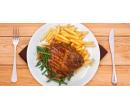 200 g přírodní krkovice s fazolkami, slaninou  | Slevomat