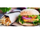 2× Královský burger a hranolky s rozvozem | Slevomat