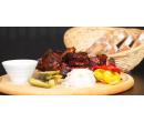 1 kg grilovaných vepřových žeber v BBQ marinádě | Slevomat