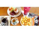 Hovězí steak, dezert, limonáda a kafe | Slevomat