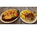 Steak, přílohy i omáčky dle vaší chuti pro 2  | Slevomat