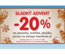 Sleva 20% na panenky, autíčka a plyšáky   Bambule