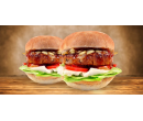 2 x vege burger i s rozvozem | Slevomat