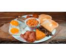 Velká anglická snídaně pro jednu osobu | Slevomat