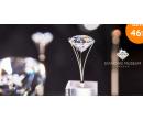 Pravý diamant o hmotnosti 0,02 nebo 0,04 ct | Hyperslevy