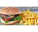 Burger dle výběru a hranolky | Slevomat