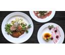 Hovězí carpaccio, vepřová panenka a crème brûlée  | Slevomat