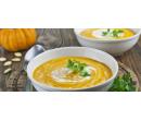 Dvě 100% zeleninové krémové polévky s pečivem | Slevomat