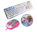 Set Yenkee Girls - klávesnice, myš, podložka   Alza