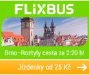 Autobusem Praha - Brno za 25 Kč!!   FlixBus