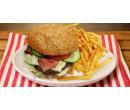 Maxi burger nebo cheeseburger, hranolky | Slevomat