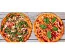 2 křupavé pizzy podle výběru s rozvozem zdarma | Slevomat