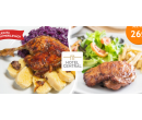 Steak nebo nadívaná kachna vč. dezertu pro 2 | Hyperslevy