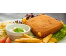 Smažený sýr s hranolky nebo kroketami  | Slevomat