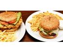 1× libovolný burger z nabídky, 200 g + hranolky | Slevomat