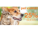 Sleva 25 % na jeden produkt z prodejny Pet Center | Slevomat