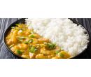 Krevety se zeleninou a citronovou trávou s rýží | Slevomat