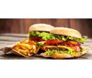1× burger včetně přílohy | Slevomat