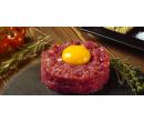 400 g míchaného tatarského bifteku + topinky | Slevomat