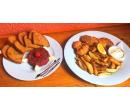 300 g řízečků, hranolky a 200 g tatarák  | Slevomat
