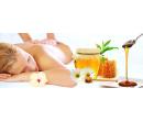 45 minutová medová masáž zad a šíje včetně zábalu | Slevici