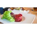 300g tatarský biftek a 6 topinek | Slevomat