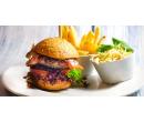 Hovězí burger v domácí žemli | Slevomat