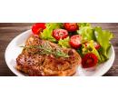 Mix steaků, přílohy a dezert pro 2 | Slevomat