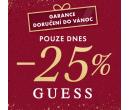 Sleva 25% na značku Guess   Bibloo.cz