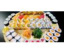 36 ks sushi s wasabi, zázvorem a sushi salátem | Slevomat