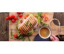 Křupavé panini výběrem ze 3 druhů a káva  | Slevomat