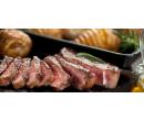 2× Hanger steak 350 g + pečený plněný brambor   Slevomat
