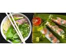 Vietnamská polévka phở a letní závitky pro dva | Slevomat