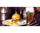 Barbecue Burger s 200 g hovězího masa  | Slevomat