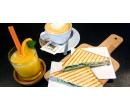 Snídaně podle výběru, káva a čerstvý džus | Slevomat