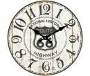 Retro nástěnné hodiny Lowell, 34 cm | Alza